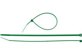 Хомут/стяжка ЗУБР универсальный, тип 7, 2.5x150мм, нейлоновый, зеленый, упаковка 100шт