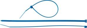 Хомут/стяжка ЗУБР универсальный, тип 7, 3.6x200мм, нейлоновый, синий, упаковка 100шт