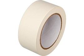 Лента малярная (скотч) 25ммx40м, бумажная, клейкая, белая