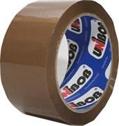 Лента клейкая (скотч) упаковочная UNIBOB, 48ммx66м, прозрачный