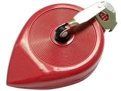 Шнур-отвес малярный разметочный Stayer, 30м, металлический корпус, красный