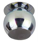 Светильник встраиваемый ЭРА декор DK88-2, 3D квадрат, G9, 220V, 35W, серебро-мультиколор