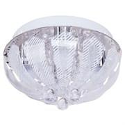 Люстра подвесная 200061/4CR RC WTLED, диаметр 300м, 4x40W, хром, прозрачная