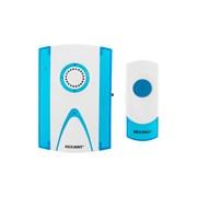 Звонок беспроводной Rexant RX-3 (R6х2+23Ах1), 4 уровня громкости, 36 мелодий, 80м, кнопка IP64