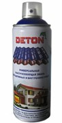 Краска-эмаль Аэрозоль DETON, акриловая, RAL5021 Водянисто-синий, 520мл
