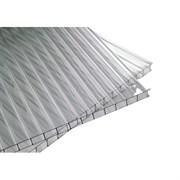 Сотовый поликарбонат Sotalight/Соталайт 6x2100x12000мм, прозрачный, на метраж