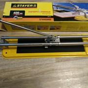 Плиткорез STAYER Стандарт 3303-40, 400x12мм, ручной, роликовый, пластиковая втулка