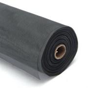 Сетка Plain Standart, противомоскитная, 900ммx30м, стекловолокно+ПВХ, черная, на метраж