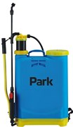Опрыскиватель-распылитель садовый Park 990029, 12л, 86x39x13см, удочка 54см, рычажный, наплечный, синий