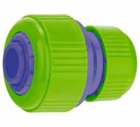 Муфта ремонтная/соединительная PALISAD для системы полива, шланг-шланг, 1/2x3/4дюйма, АБС пластик