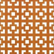 Лист (панель)  перфорированный ХДФ, 600x1200мм, Дамаско, венге