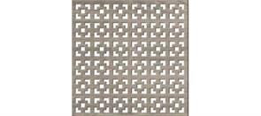 Лист (панель)  перфорированный ХДФ, 600x1200мм, Дамаско, дуб винтаж
