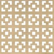 Лист (панель)  перфорированный ХДФ, 600x1200мм, Дамаско, дуб сонома