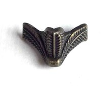 Ножка для шкатулок Чешуйка, AВ бронза
