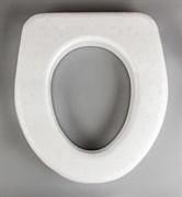Сиденье для дачного туалета, пенопласт, белый