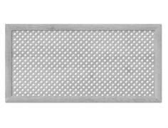 Экран для радиатора МДФ/ХДФ, 1200x600мм, Готико, дуб серый