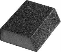 Губка абразивная ЗУБР Мастер, 100x68x26мм, шлифовальная, Р120, оксид алюминия, средняя жескость