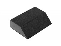 Губка абразивная ЗУБР МАСТЕР для шлифования, 100х68х26мм, четырёхсторонняя, средняя жесткость Р80