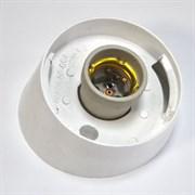 Арматура для настенного светильника НББ 64-60 (НББ 04-60), наклонное основание, без стекла, белый