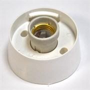 Арматура для настенного светильника НББ 64-60 (НББ 04-60), прямое основание, без стекла, белый