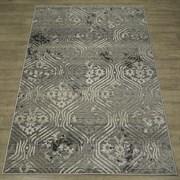 Ковер Фиеста 36136-36922, 60х110см, прямоугольный, серый с рисунком
