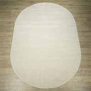Ковер Веста 46102-45022, 60х110см, овальный, молочный
