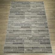 Ковер Фиеста 36120-36966 60х110см, прямоугольный, серый с рисунком