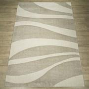 Ковер Веста 46103-45025, 60х110см, прямоугольный, бежево-белый с рисунком