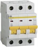 Выключатель автоматический IEK ВА 47-29, 3Р, 40А, 4.5кА