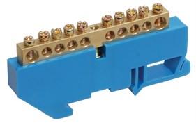 Шина нулевая ЕКF ИЭК YNN10-69-10D-K07 на DIN-изоляторе ШНИ, 6х9-10-Д-С