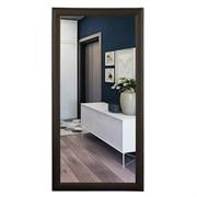Зеркало прямоугольное в деревянной рамке венге МДФ САНАКС 45751, 410х610х55мм/610х410х55мм (горизонтальное+вертикальное)