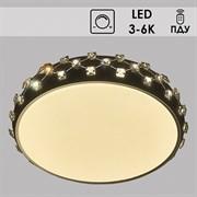 Люстра подвесная LED-встроенная Y6042/500R ,диаметр 500мм, 2x36W, 3000-6000K, ПДУ, диммер