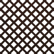 Лист (панель) перфорированный ХДФ, 600x1200мм, Дедало, венге