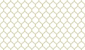 Фартук кухонный Арабеска золото, 3000х600х1.5мм, пластик АВС, термопечать