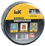 Изолента IEK ИЭК UIZ-13-10-10М, 15ммx10м, ПВХ, в ассортименте