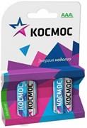 Батарейка Космос KOCLR034BL_classic, LR 03, ВР-4, алкалиновая/щелочная, мизинчиковая, упаковка 4шт.