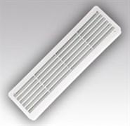 Решетка вентиляционная ЭРА 4513РП, 455х133мм, переточная, с жалюзи, пластиковая, бежевая