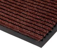 Коврик напольный Floor mat (Полоска), 60х90см, влаговпитывающий, темно-коричневый