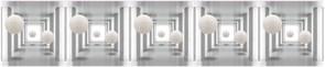 Фартук кухонный Невесомость, 3000х600х1.5мм, пластик АВС, термопечать