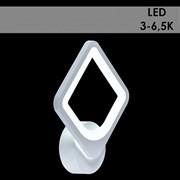 Светильник настенный/бра LED встроенный MX10005/1, длина 220мм, LED 24W, 3000-6500k, HN20, WT белый