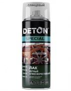Лак DETON Special, яхтный, алкидно-уретановый, шелковый матовый, 520мл, прозрачный