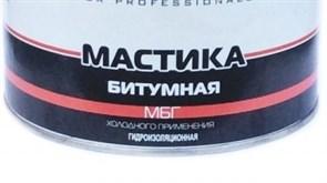 Мастика ALOE битумная, гидроизоляционная, МБГ, холодного применения, 1.8кг
