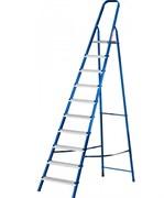 Лестница-стремянка MIRAX 38800-10, 203см, 10 ступеней, стальная