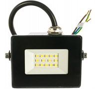 Прожектор светодиодный IEK СДО-06-10, 10Вт, 6500К, черный