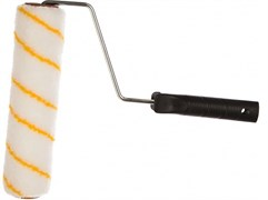 Валик малярный ЗУБР ОПТИМА-ГИРПАИНТ 03516-18, 40x180мм, бюгель 6мм, ворс 12мм, полиэстер