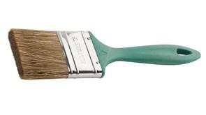 Кисть плоская STAYER LASUR-EURO 01081-063, 63мм, смешанная щетина, пластиковая ручка