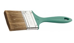 Кисть плоская STAYER LASUR-EURO 01081-075, 75мм, смешанная щетина, пластиковая ручка