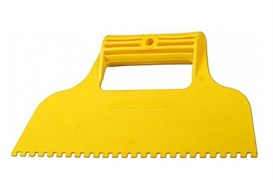 Шпатель зубчатый STAYER 1022-8, 230мм, зубья 8х8мм, пластиковый