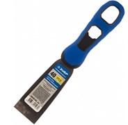 Шпатель ЗУБР ПРОФИ 10049-04, 40мм, профилированное нержавеющее полотно, двухкомпонентная ручка
