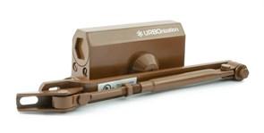 Доводчик НОРА-М 510 URBOnization, 15-60кг, морозостойкий, коричневый